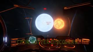Insane Spinning Dwarf! - At least 4 revolutions per second! - Elite Dangerous
