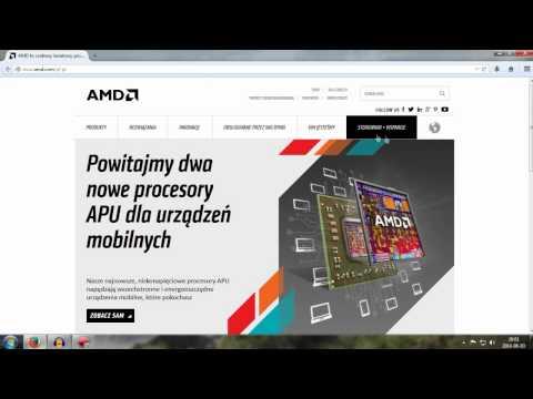 Jak pobrać najlepszy sterownik do Karty Graficznej (AMD) HD