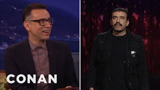"""Fred Armisen Remembers His """"Late Night"""" Stand-Up Set  - CONAN on TBS"""
