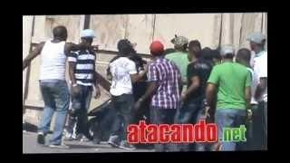 getlinkyoutube.com-Pelea y tiros en  ultima carrera Hato Mayor 2012