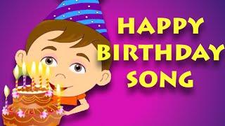 getlinkyoutube.com-Happy Birthday Song | Nursery Rhymes For Children