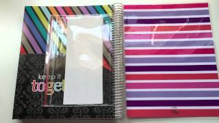 getlinkyoutube.com-Erin Condren: Deluxe Notebook Open Box & Review