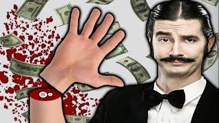 getlinkyoutube.com-BLOODY RISKY! | Handless Millionaire