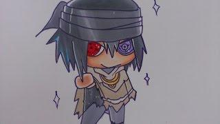 getlinkyoutube.com-Drawing Chibi Sasuke: Naruto The Last Movie