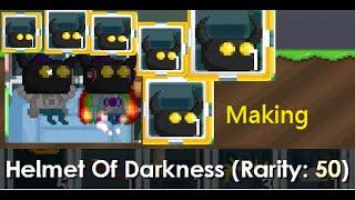 getlinkyoutube.com-Growtopia - Making Helmet Of Darkness!