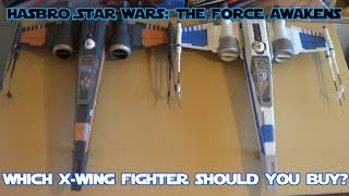getlinkyoutube.com-Hasbro Star Wars: The Force Awakens X-Wing Starfighter HD Comparison and Review