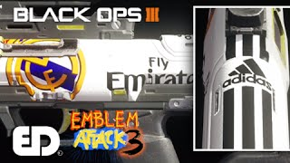 getlinkyoutube.com-Black Ops 3: REAL MADRID Paint Job Tutorial (Emblem Attack 3)