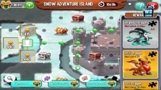 getlinkyoutube.com-Dragon City: Full Christmas Snow Adventure Island Map + All Dragons Location