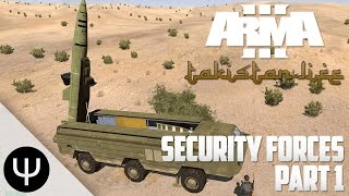 ARMA 3: Takistan Life Mod — Security Forces — Part 1 — Hostage Situation!