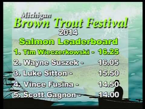 40th Annual Brown Trout Festival: Day 4 Leader Boards