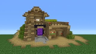 getlinkyoutube.com-Minecraft Tutorial: How To Make The Ultimate Survival House