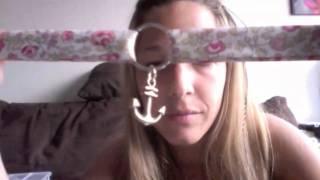 getlinkyoutube.com-Tutoriel, Bracelet en Tissu Fleuri, Liberty,  Bracelet d'Eté
