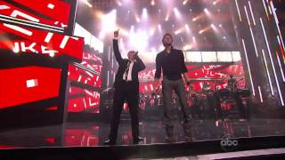 getlinkyoutube.com-Enrique Iglesias Ft Pitbull - Tonight and I like it - Live AMA awards