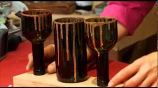 getlinkyoutube.com-Мастер класс от Марата Ка «Подсвечники и ваза из бутылки»