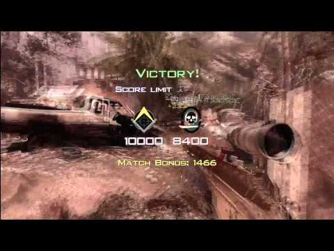 MW3 | MSR JUMPSHOT TRIPLE GWK!!!!