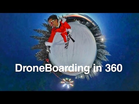 DRONEBOARDING in 360