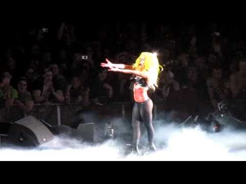 Lady Gaga -  (Performing Alejandro LIVE) Salt Lake City, Utah March 19 2011