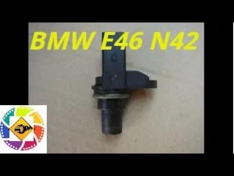 BMW E46 N42 1.6l замена датчика коленвала