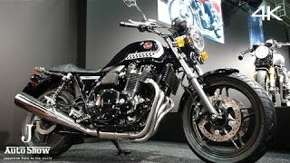 getlinkyoutube.com-(4K)HONDA CB1100 ABS Special Edition 2016 ホンダCB1100 ABS スペシャルエディション - 大阪モーターサイクルショー2016