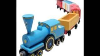 getlinkyoutube.com-Wooden The Little Engine That Could(Tillie) Set