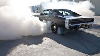 getlinkyoutube.com-BEST Muscle cars burnouts ( PURE SOUND ) Hot