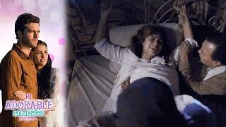 Aurora es marcada por la tragedia | Mi adorable maldición - Televisa