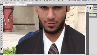 كيفية تركيب بدلة على الصور بالفوتوشوب CS5