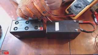 getlinkyoutube.com-Как восстановить аккумулятор от ИБП UPS APC