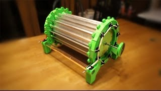 getlinkyoutube.com-3D Printed AtmoMotor HV Atmospheric Motor - Wireless Energy