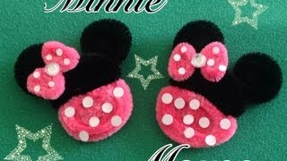 getlinkyoutube.com-MINNIE MOUSE HECHA CON  LIMPIA PIPAS.- PIPE CLEANERS MINNIE MOUSE . DIY