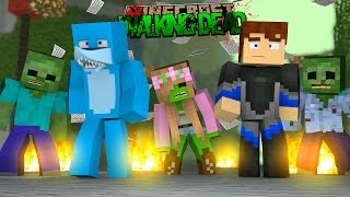 getlinkyoutube.com-Minecraft THE WALKING DEAD - JOINING THE ZOMBIES WITH LITTLE KELLY!!!