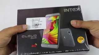 Hindi Intex Cloud Swift Unboxing And Hands on!