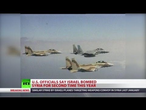 Blatant Blitz: Israel bombs Syria, targets chem weapons depot?