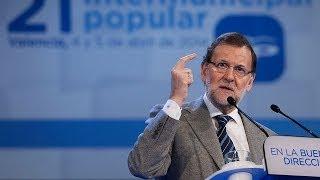 Rajoy: Que no vengan con historias quienes han llevado a este país a la ruina