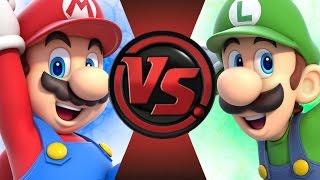 getlinkyoutube.com-MARIO vs LUIGI! Cartoon Fight Club Episode 51