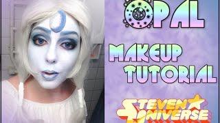getlinkyoutube.com-Opal (Steven Universe) - Makeup Tutorial