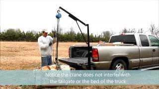 getlinkyoutube.com-Homemade truck crane