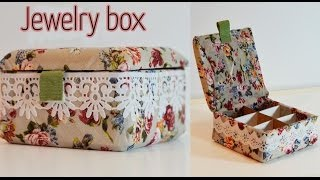 getlinkyoutube.com-DIY Craft : Jewelry box - Ana | DIY Crafts