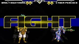 getlinkyoutube.com-4 vs 4 Cheap Characters MUGEN Part 3 Request Battle!!!