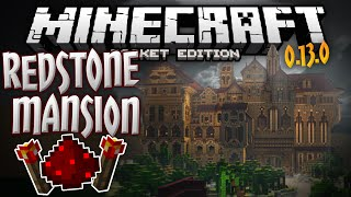 getlinkyoutube.com-REDSTONE MANSION!!! - Official Mojang Adventure Map for 0.13.0 - Minecraft PE (Pocket Edition)