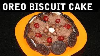 getlinkyoutube.com-Oreo Biscuit Cake II बिस्कुट केक II  By Chef Harneet Kaur II