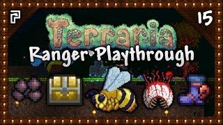 🌳 Terraria 1.3.4 Let's Play | Ranger Playthrough | Not The Bees! Mini Jungle Arena! [Episode 15]
