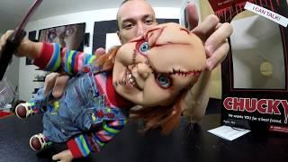 getlinkyoutube.com-UNBOXING | Mezco 15 Inch Mega Scale Chucky