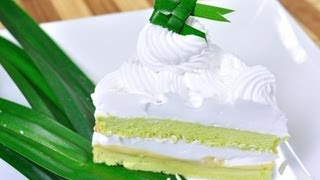 เค้กใบเตย | Pandan Cake