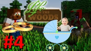 getlinkyoutube.com-Minecraft - Life In The Woods Modpack - #4 - Dags att bli föräldrar!