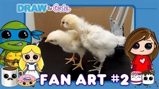 getlinkyoutube.com-Draw So Cute Fan Art #2 How to Draw Cute Characters Easy
