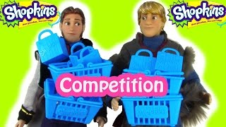 Disney Frozen Shopkins Blind Bag Competition Prince Hans Kristoff Opening 12 Pack