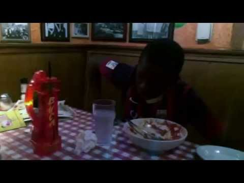 Failed Man vs. Food (Spaghetti & Meatballs - 2014