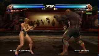 getlinkyoutube.com-Tekken Tag Tournament 2:Nina/Anna Williams Gameplay