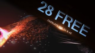 getlinkyoutube.com-28 FREE OVERLAYS for SV & AE #1